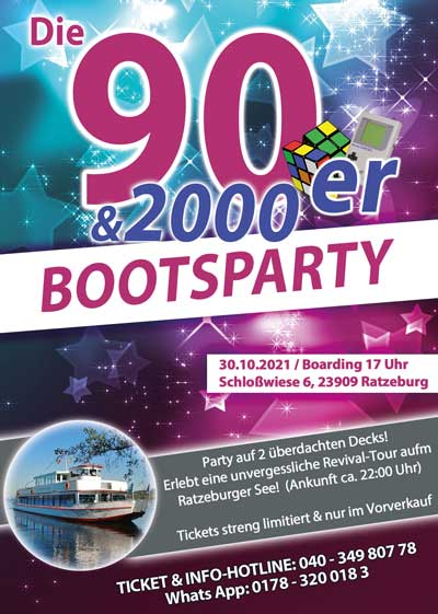 party boot3010 90er